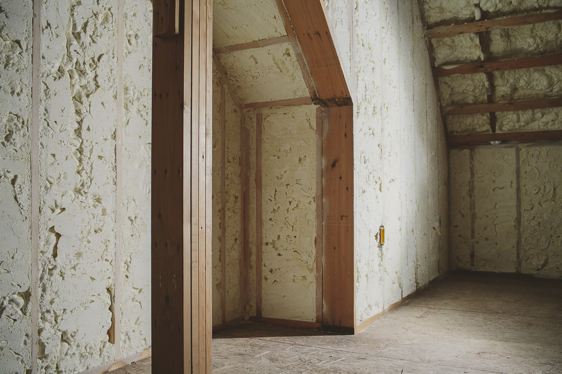 Open-Cell Spray Foam Insulation