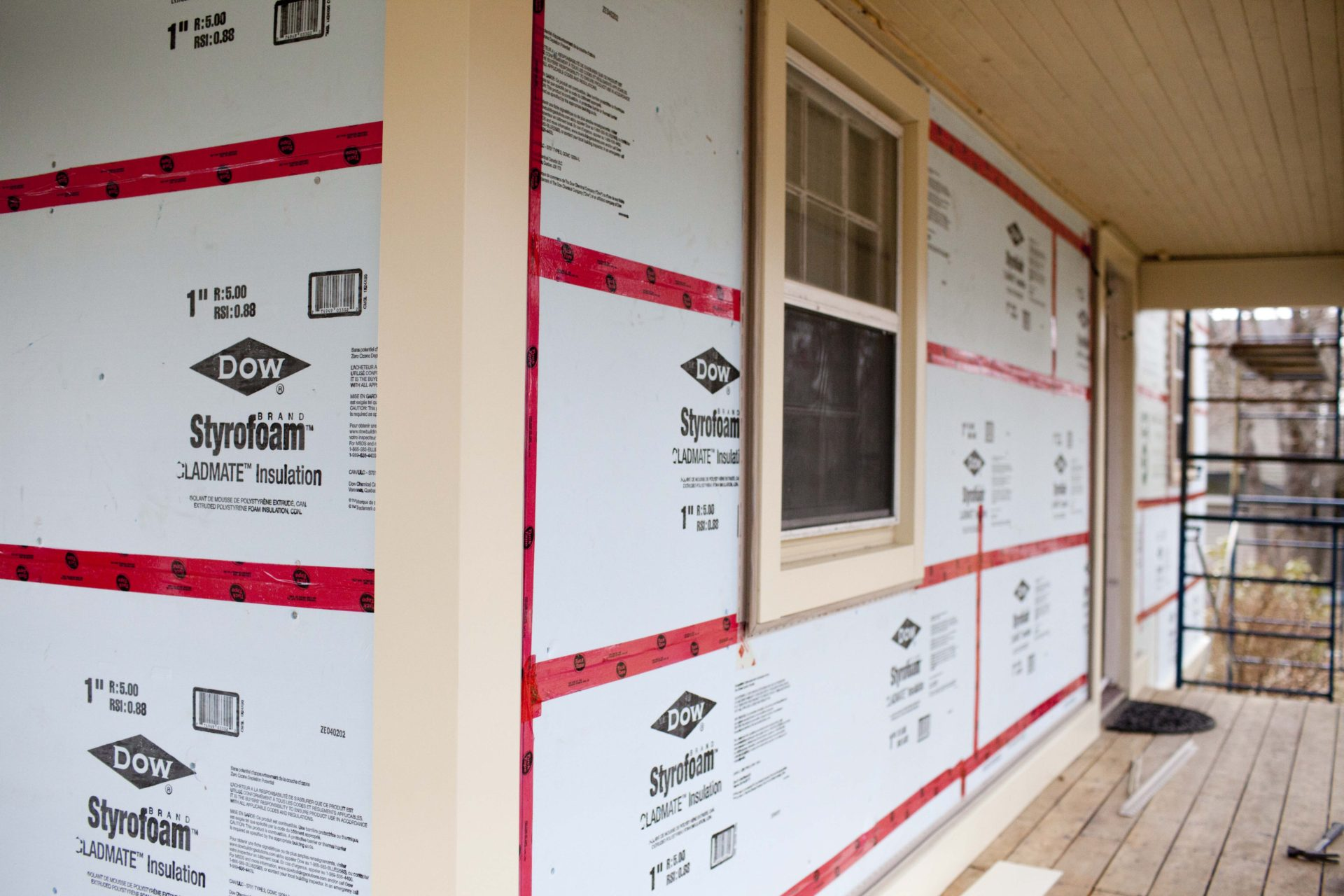 Exterior Foam Board Insulation